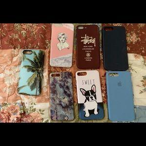 Accessories - iPhone 7+ cases bundle